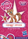 My Little Pony Wave 16A Cherry Spices Blind Bag Card