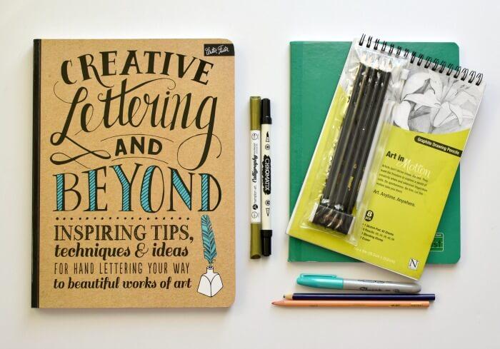 Materiales para aprender caligrafia
