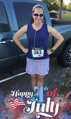 4 Miler on the 4th of July