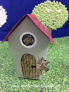 Stampin' Up! Mini Märchenland mit Häuschen der Wolf und die sieben Geißlein
