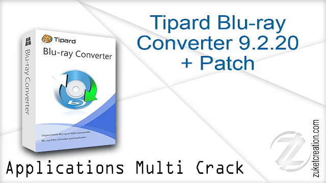 Tipard Blu-ray Converter 9.2.20 + Patch