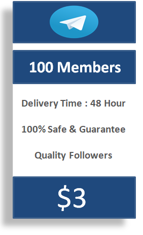 buy 100 telegram members, buy telegram channel members