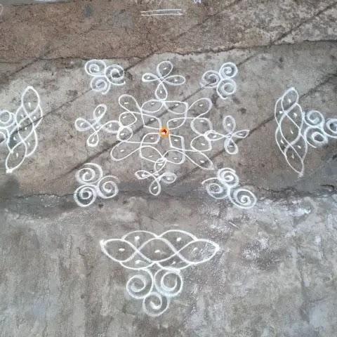 Easy-Sankranti-design-of-muggulu