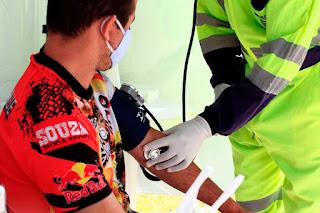 Arteris Régis Bittencourt já atendeu mais de 6.500 caminhoneiros em ação de prevenção ao Coronavírus