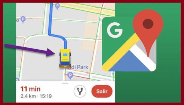 تحديث جديد لخرائط جوجل يشمل تغيير سهم التنقل برمز سيارة فقط !!!