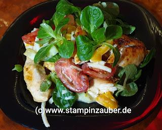 Nudel Rapunzel Salat Foto Silvi Provolija