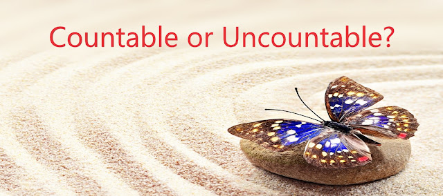 countable  ans uncountable nouns