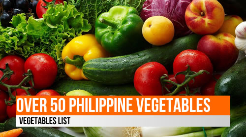 LIST: 50+ Vegetables in the Philippines