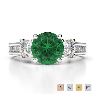 Birthstone Engagement Rings May