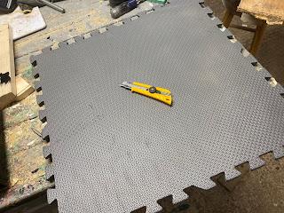 Rubberized flooring