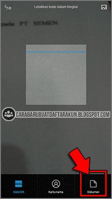 cara scan file lewat hp
