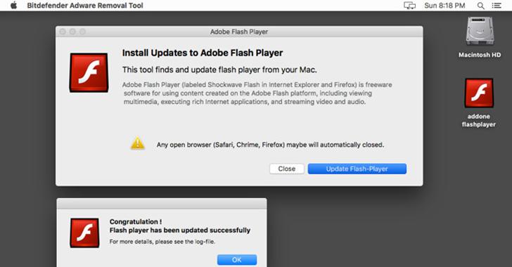 adobe flash malware