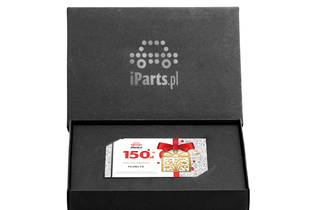 prezent na święta dla mężczyzny - voucher iParts.pl - sklep motoryzacyjny online