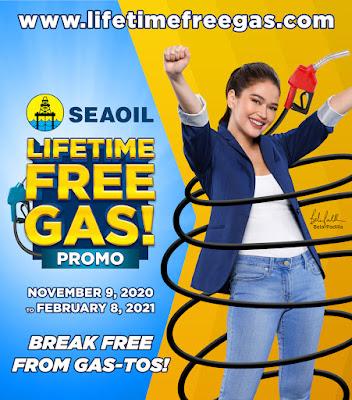 SEAOIL Lifetime Free Gas