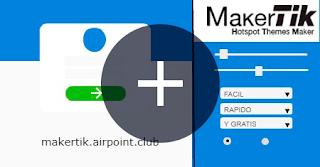Mikrotik Makertik, Hotspot, Template