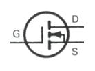 Transistor Symbol - MOSFET N Channe Enhancement