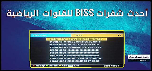 تحديث   جميع شفرات البيس 2020 شفرات biss على جميع الاقمار