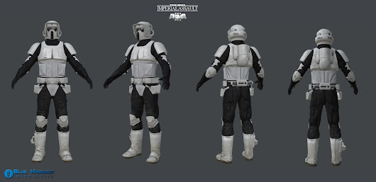 "Scout Trooper low poly ""Imperial Assault"" Arma3 MOD"