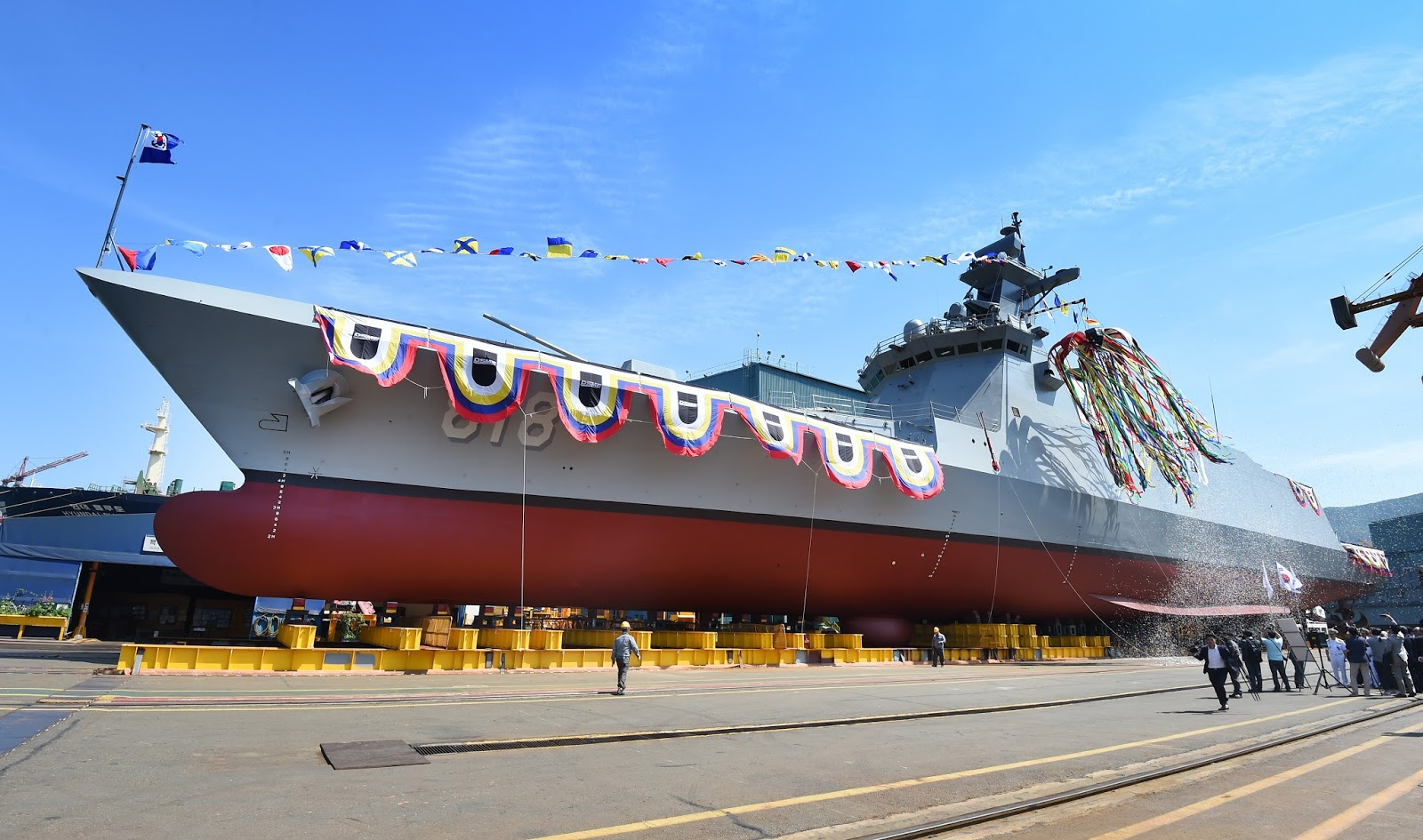 South Korea Orders Two Daegu-class FFX-II Frigates Ahead