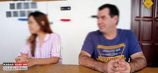 Mr Michele Bojolante (kanan) dan Istri (Cici Ersih)