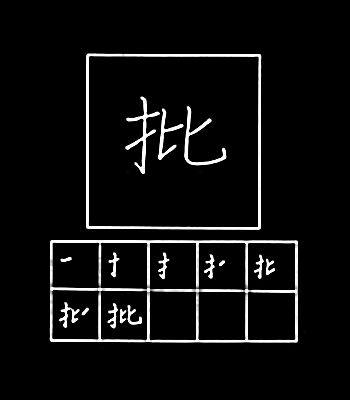 kanji criticism