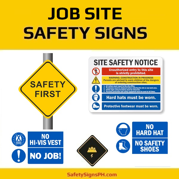 Job Site Safety Signs Philippines