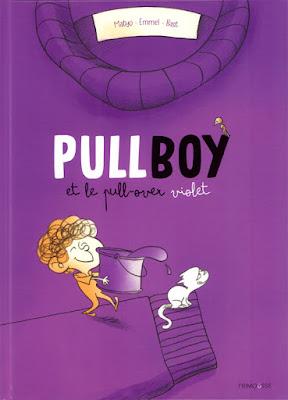 Pullboy et le pull-over violet aux éditions Frimousse