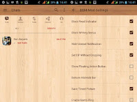 BBM MOD Wood v3.3.8.74 APK Terbaru Gratis