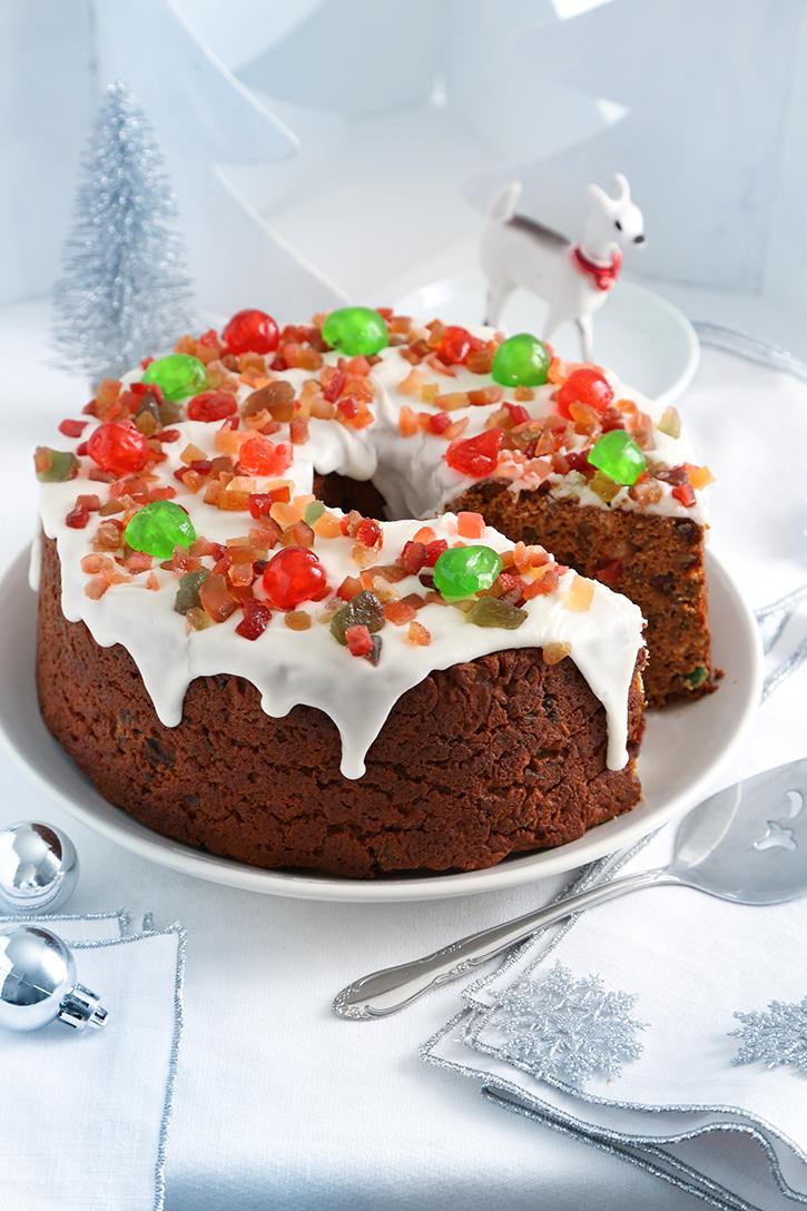 Easy Holiday Fruitcake