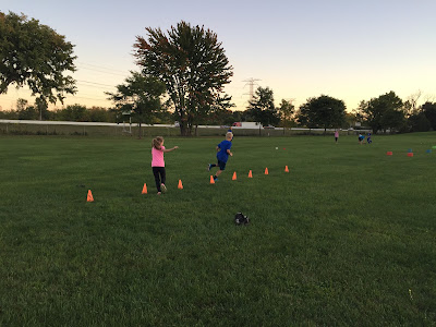 Obstacle Course for Cross Country Kids