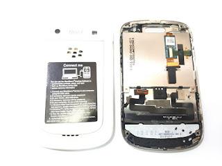 LCD Touchscreen Keypad Trackpad Casing Fullset Blackberry 9900 Dakota Original