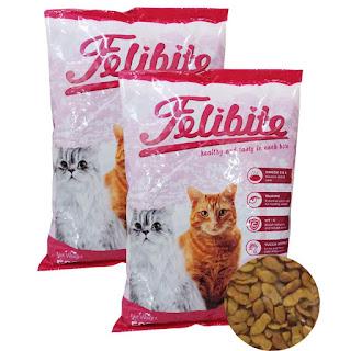 Felibite Dry Food, Makanan kucing penuh nutrisi