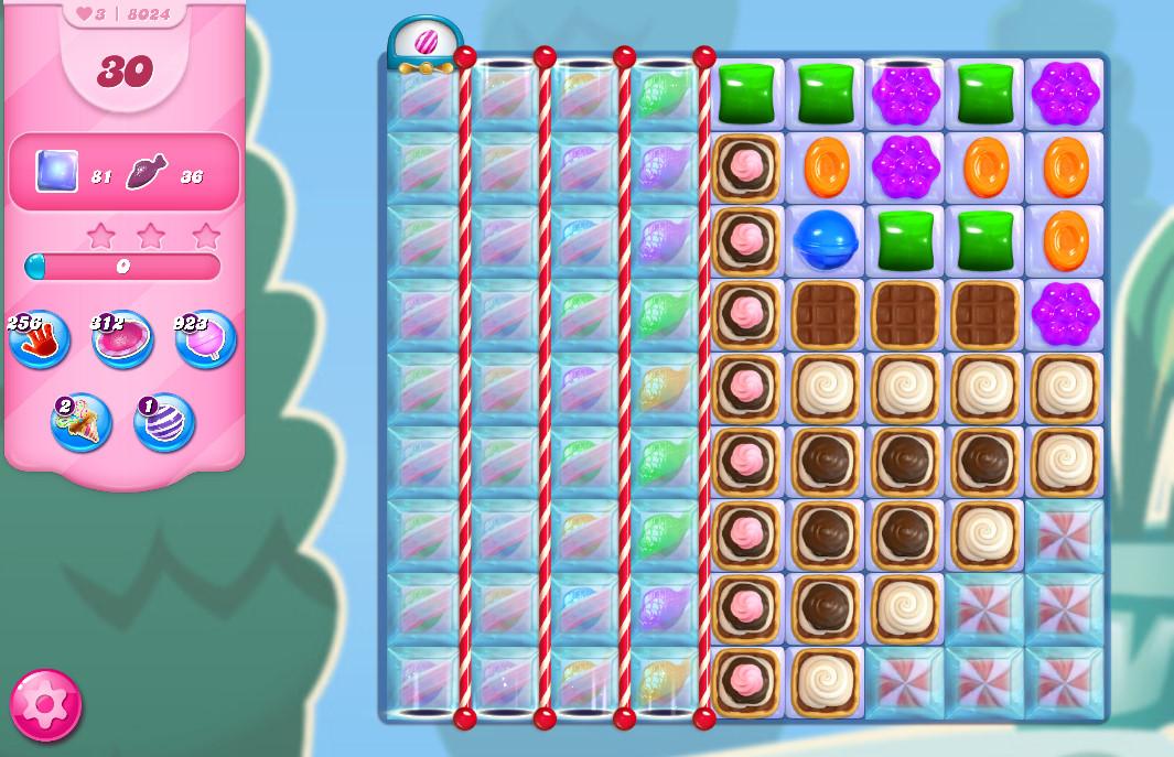 Candy Crush Saga level 8024