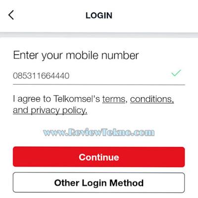 Cara Mendaftar di Aplikasi MyTelkomsel