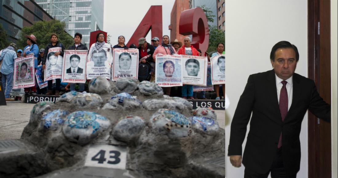 """""""Se acabó la verdad histórica"""" de la desaparición de los 43 normalistas de Ayotzinapa: FGR confirma que Tomás Zerón huyó del país"""