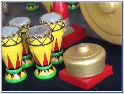 Miniatur Gamelan Bandung
