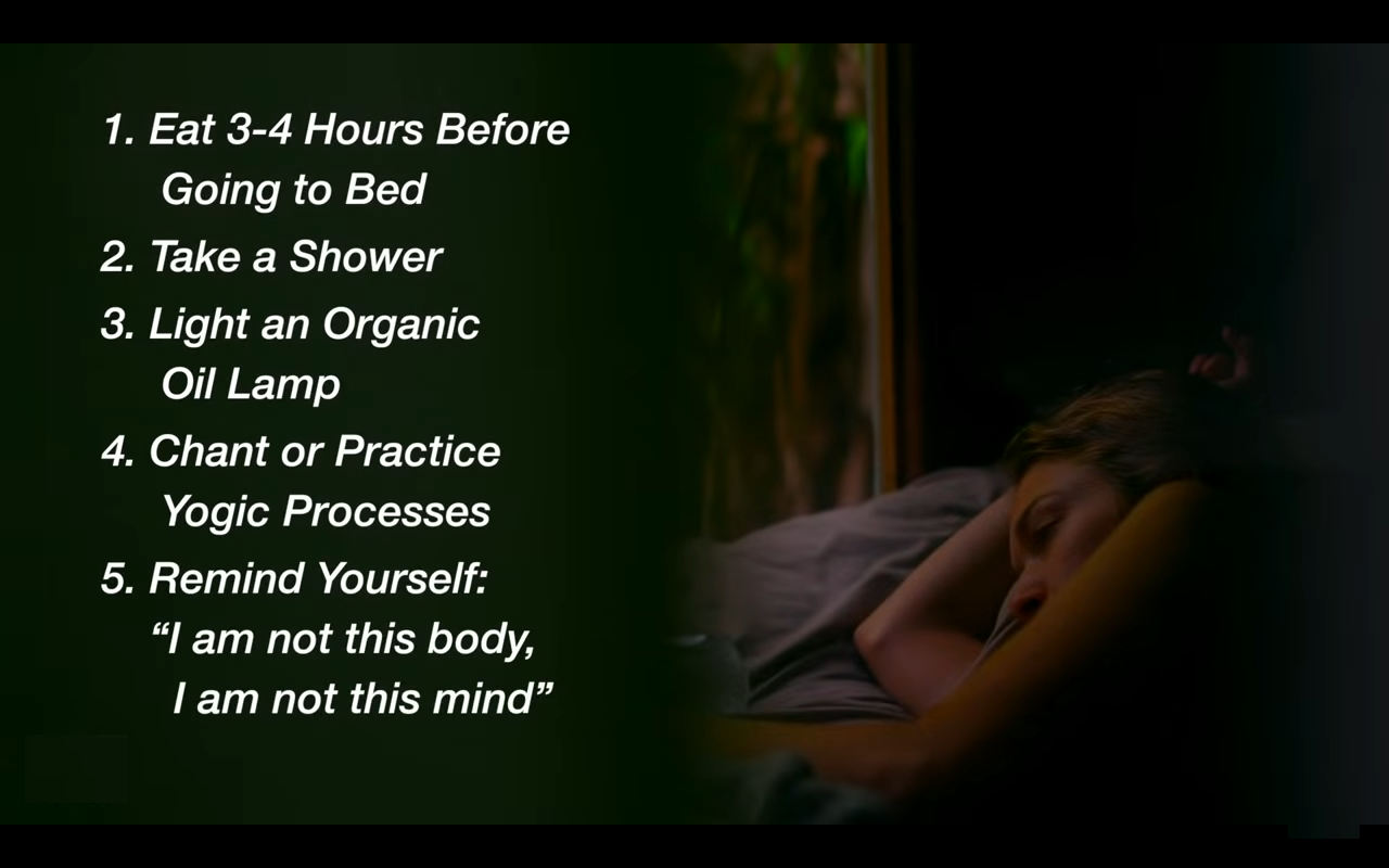 5 things to do before going to bed