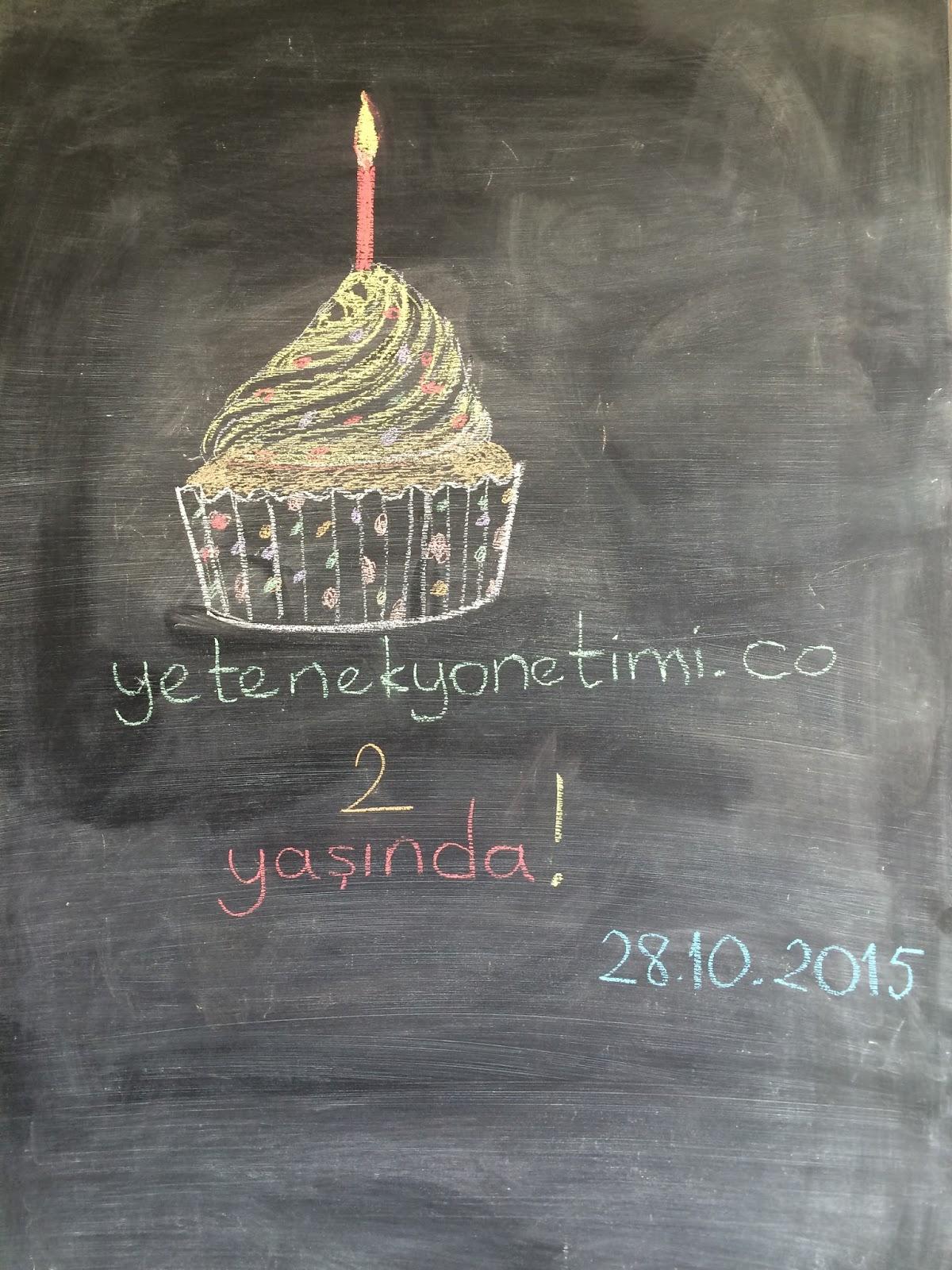 Yetenek Yonetimi Blogu 2 Yasinda!