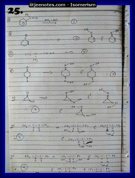 Isomerism Notes9