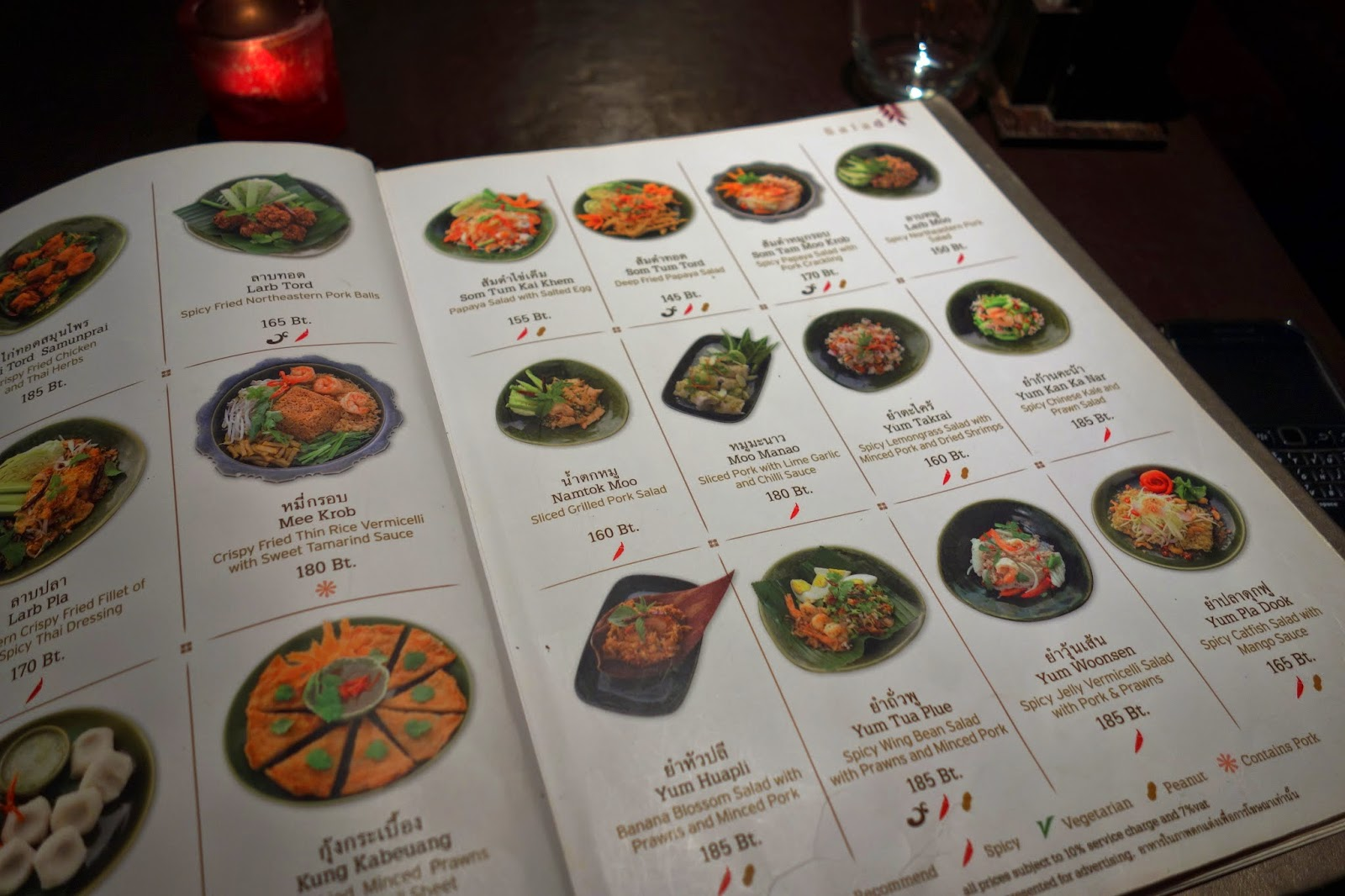 Where is fatboy bangkok nara thai cuisine for 8 spices thai cuisine menu