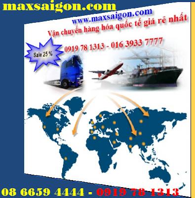 Dịch vụ chuyển phát nhanh quốc tế Maxsaigon đa dạng về hình thức vận chuyển