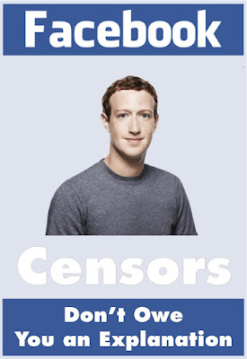 Facebook Censors don't owe you an explanation