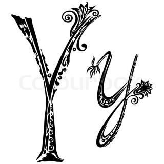 Letter Y tattoo ...Y Letter Design