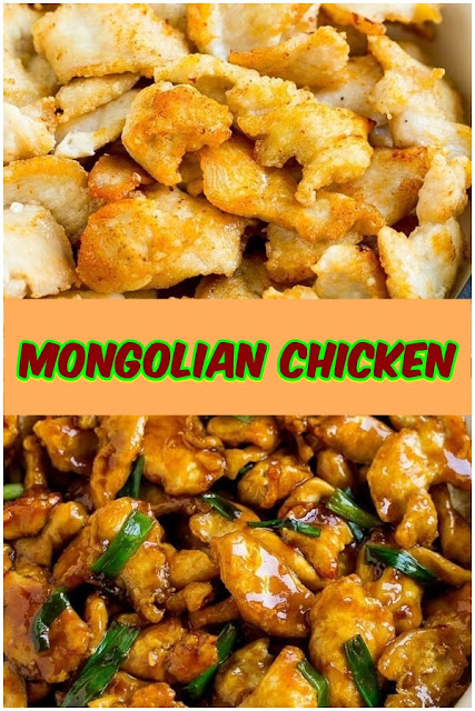 #Mongolian #Chicken