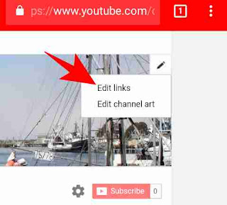 YouTube channel art me link kaise add kare 4
