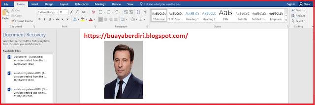 Cara membuat ukuran foto 3x4,4x6,2x3 di Microsoft Word 2010