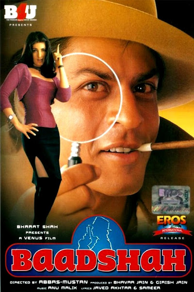 Poster of Baadshah 1999 720p Hindi DVDRip Full Movie Download