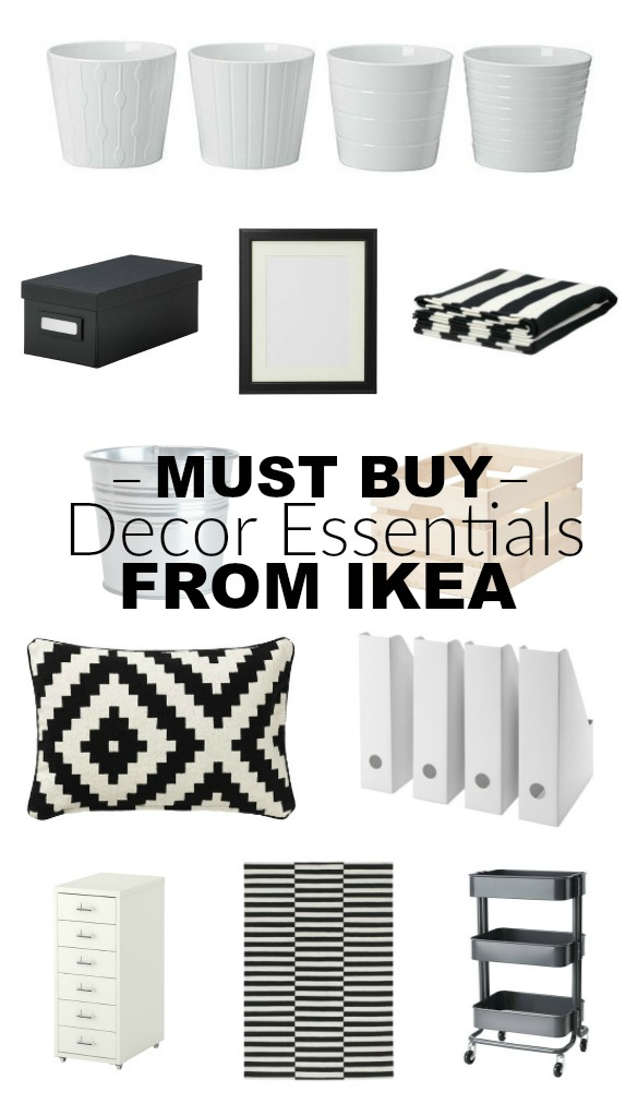 Stylish and affordable decor essentials from IKEA! #ikea #ikeahacks #farmhouse