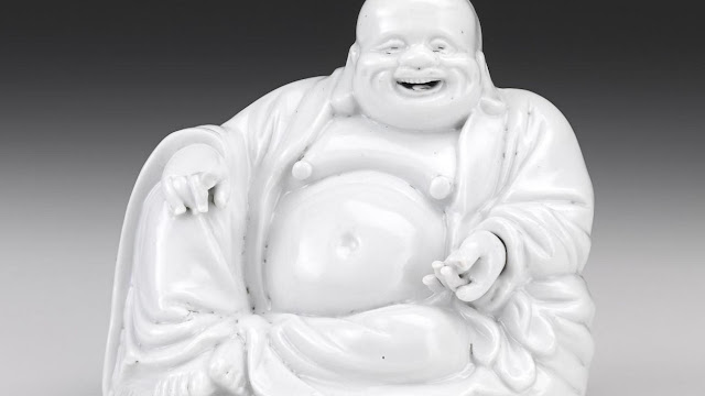 'Buddha's Smile' at the National Gallery of Victoria in Melbourne, Australia