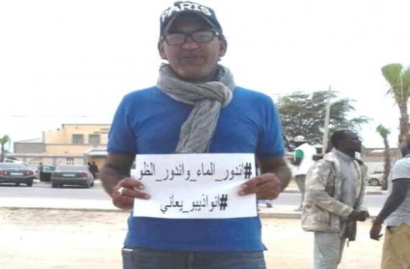 دولبيريو زعيم حراك احتجاجات نواذيبو في السجن